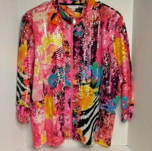 Jackets & Blazers - Erin London spring jacket/ over shirt.
